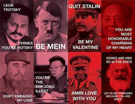 Dictator Valentines (everyone needs love)