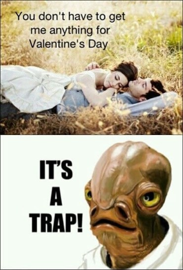 """It's a trap!"" ... as potentially devastating as the one from the Star Wars saga"